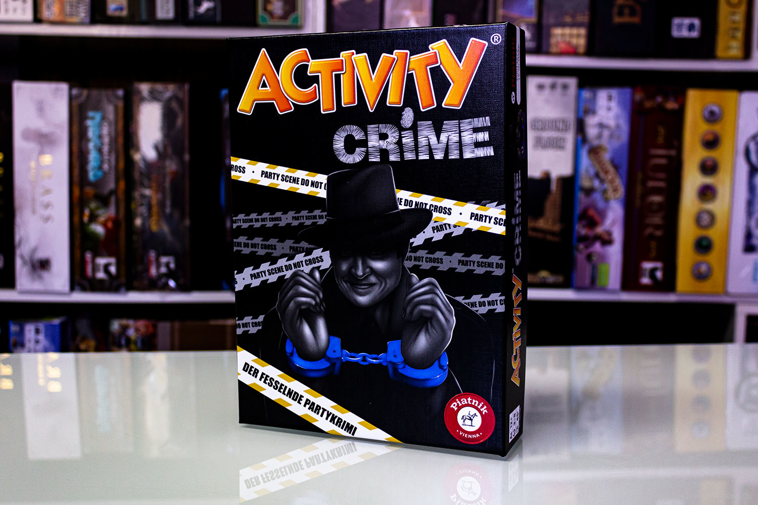 TEST // ACTIVITY CRIME