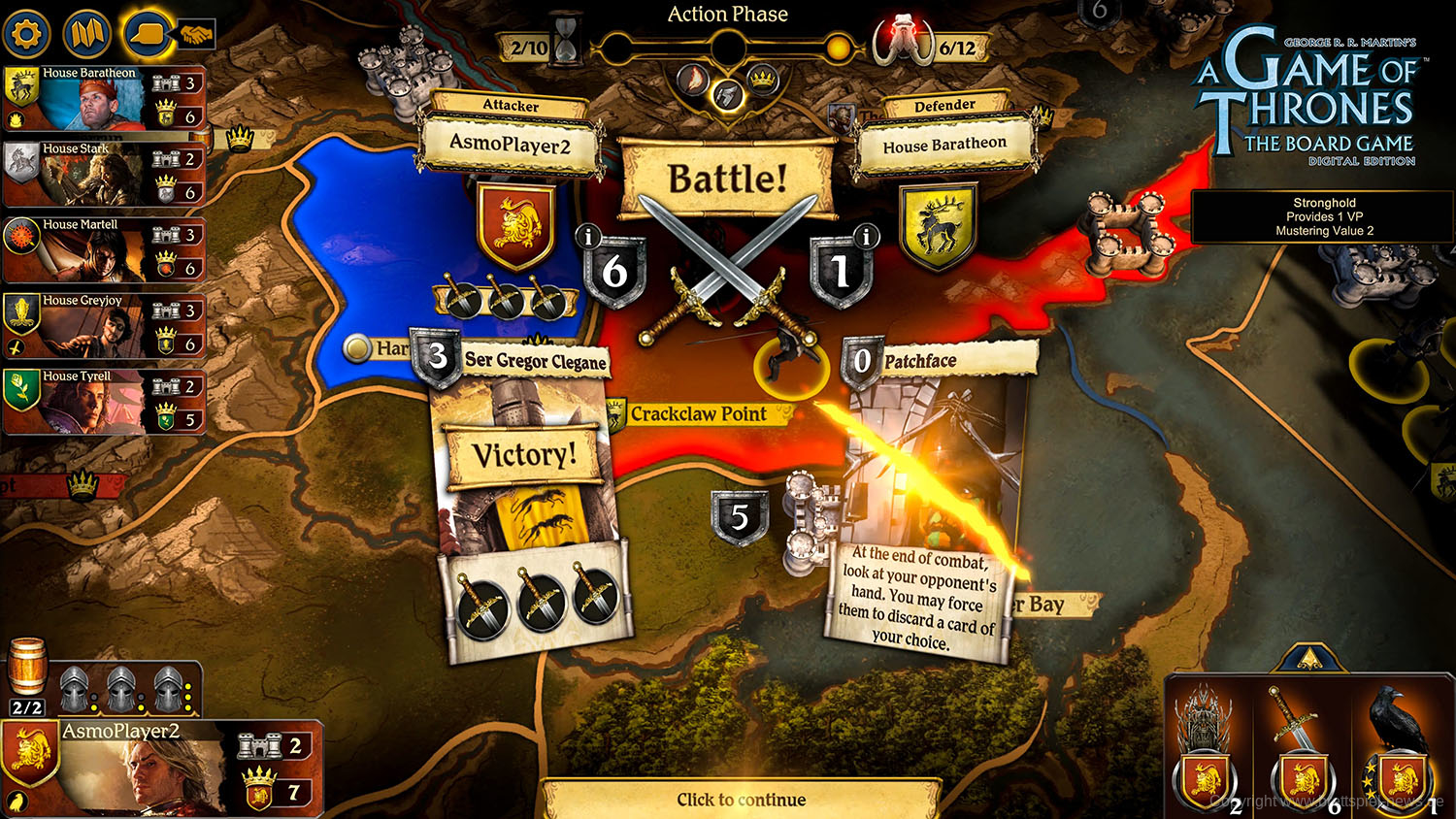 A Game of Thrones The Board Game Digital Edition Screenshot 3