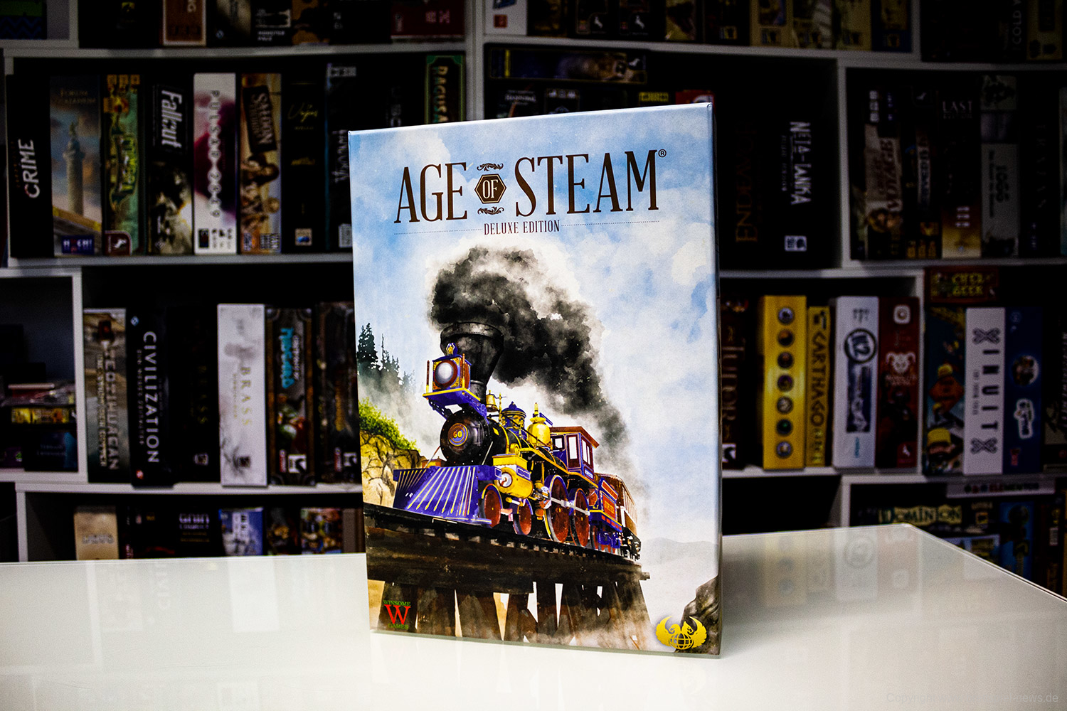 AGE OF STEAM // Erste Bilder