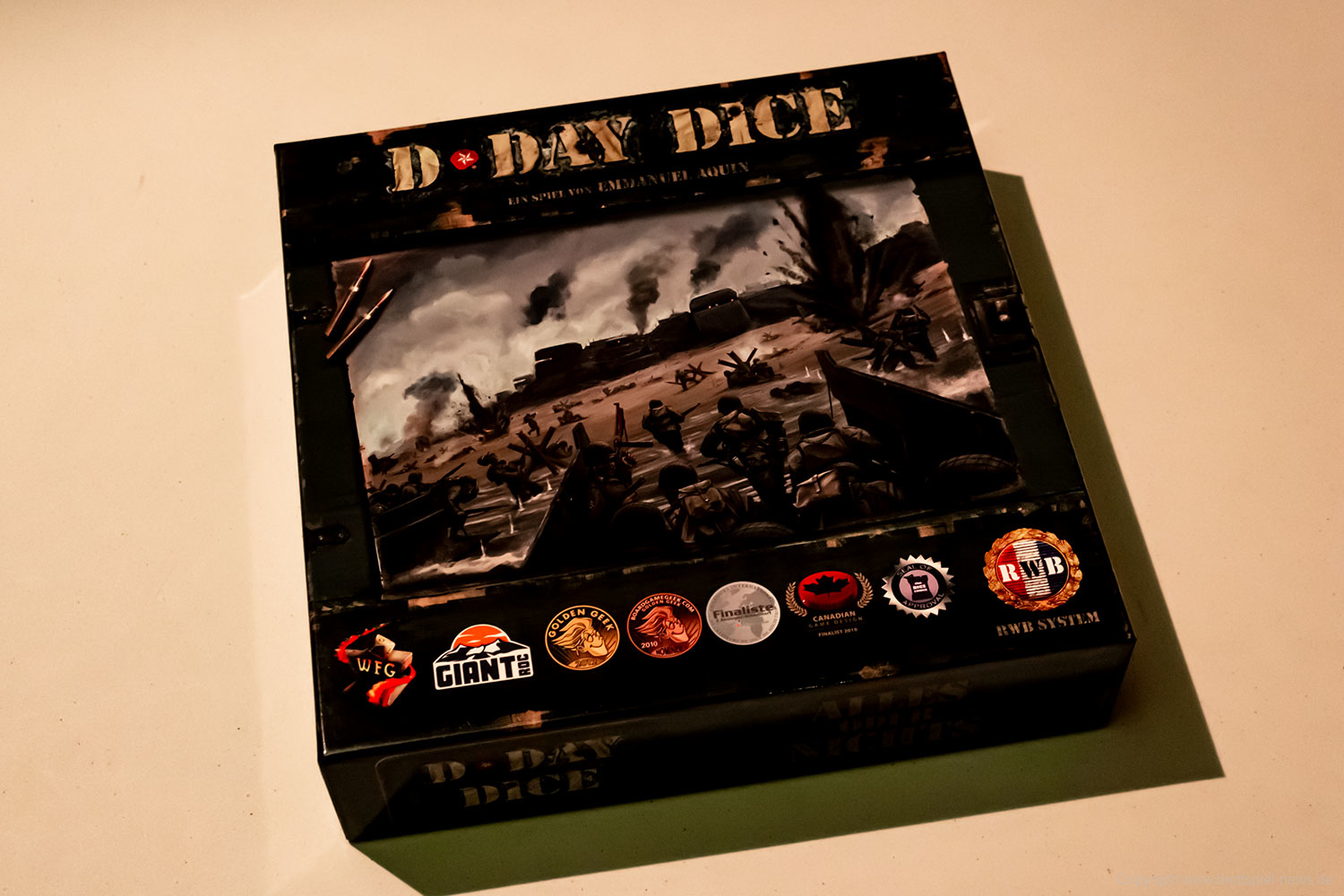 D-DAY DICE 2nd Edition // Bilder vom Spielmaterial