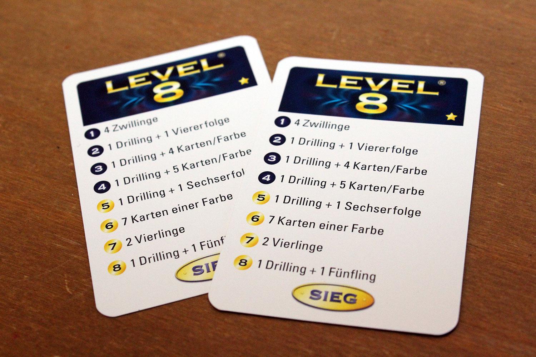 Level 8 Spiel