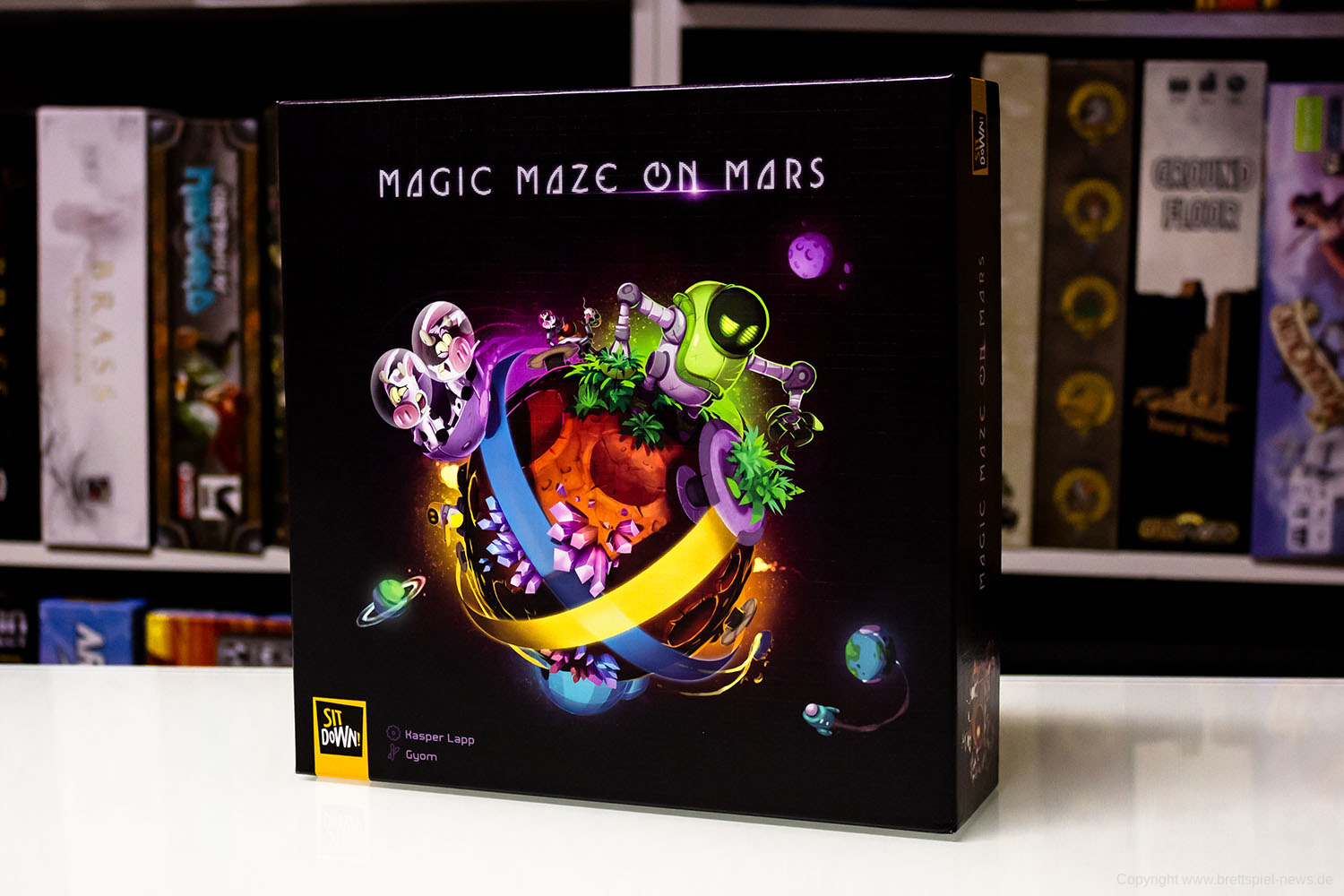 TEST // MAGIC MAZE ON MARS