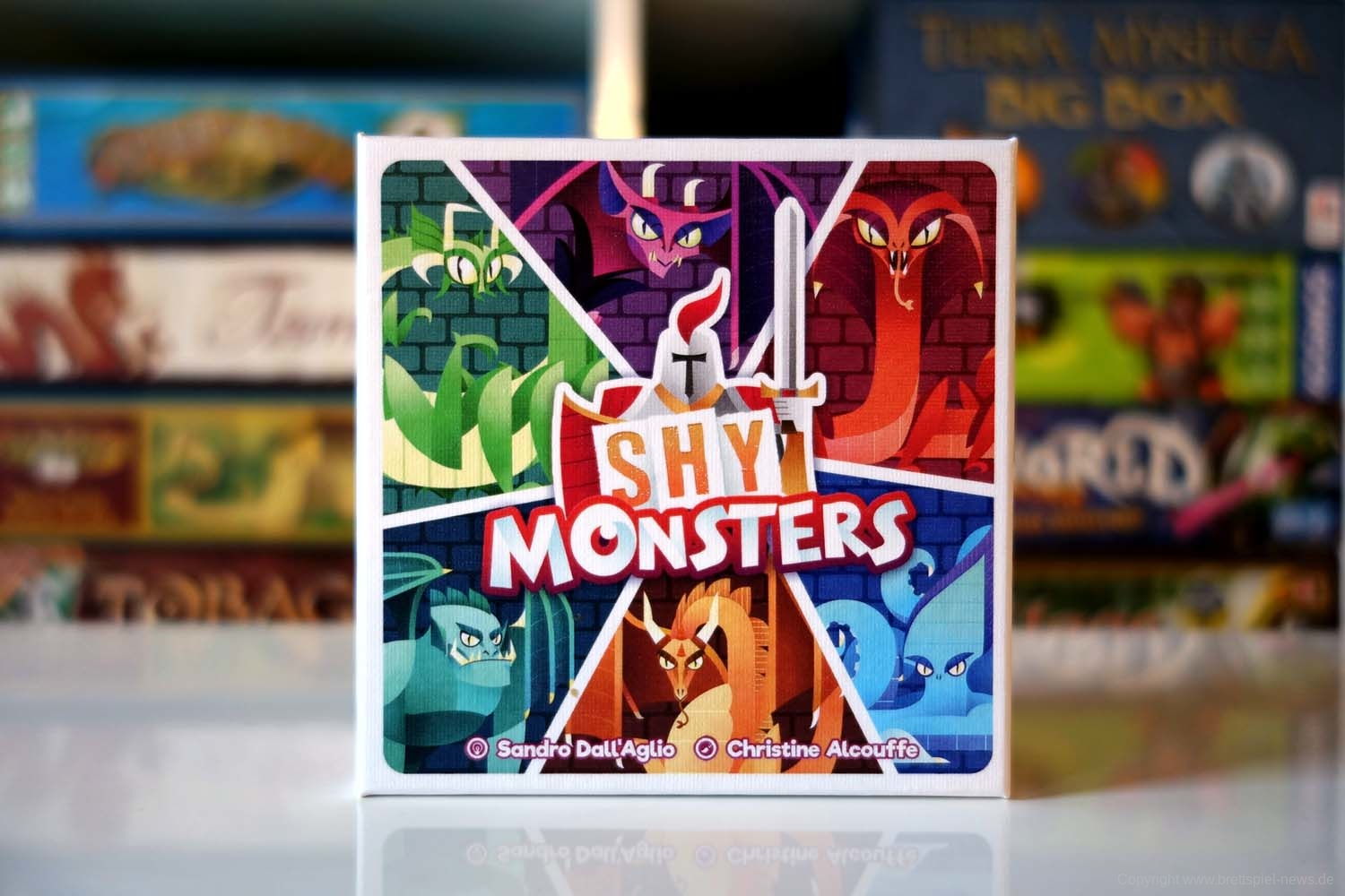 Test // SHY MONSTERS