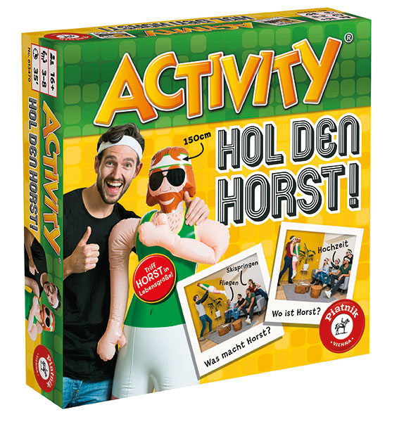 ACTIVITY: Hol den Horst! – Ulkige neue Version des Spiels