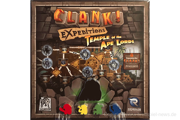 CLANK! // Expeditions: Temple of the Ape Lords
