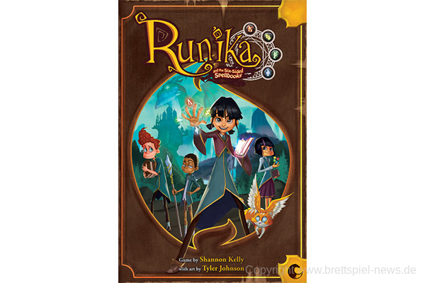 KICKSTARTER // Runika and the Six-sided Spellbooks