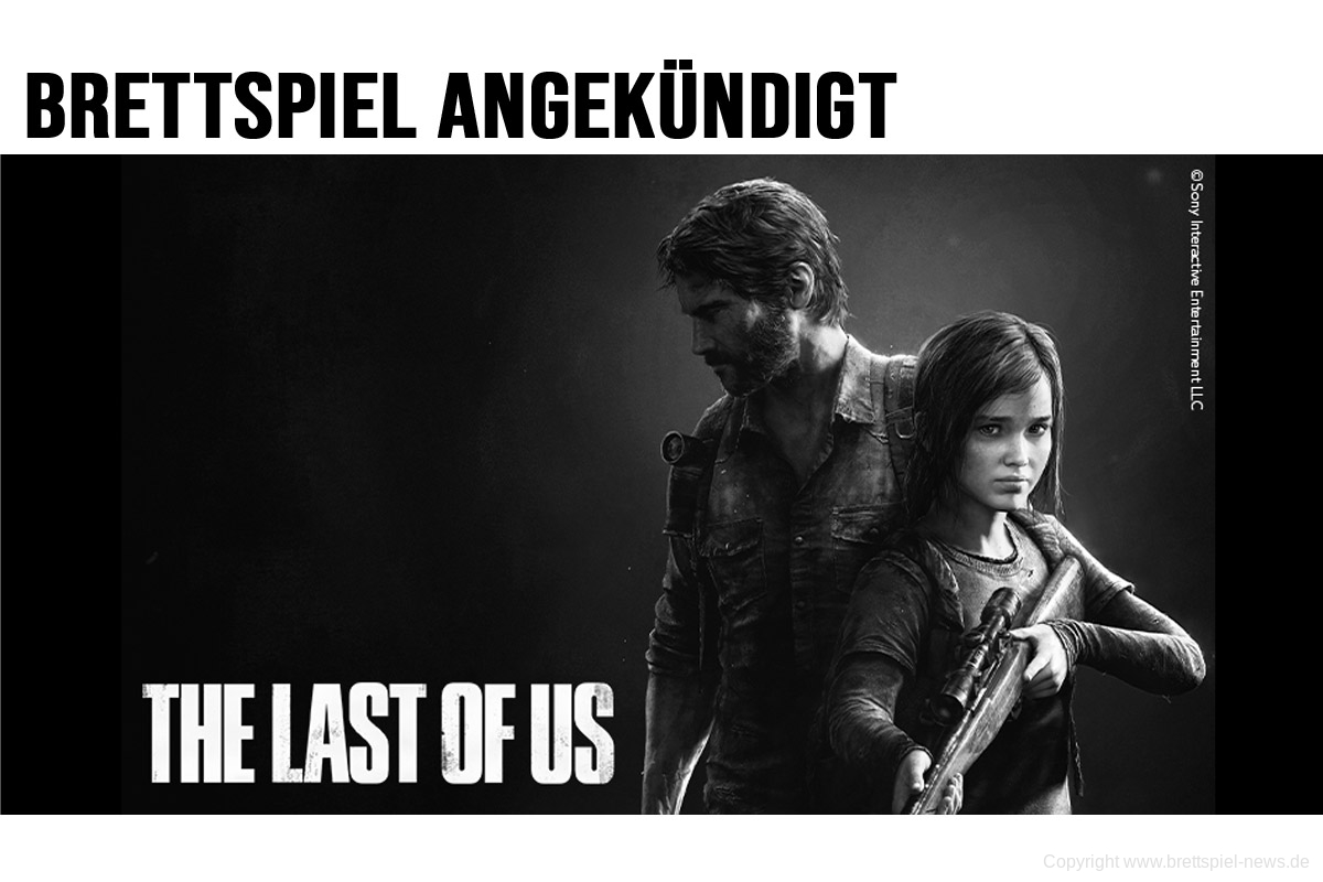 THE LAST OF US: THE BOARD GAME // von CMON angekündigt