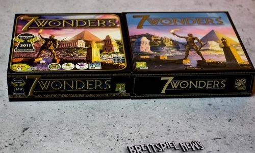 7 WONDERS // neue Version vs. alte Ausgabe