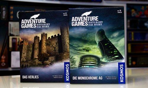 TEST // Adventure Games – Das Verlies & Die Monochrome AG