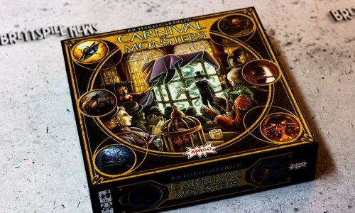 CARNIVAL OF MONSTERS //  Bilder vom Spielmaterial