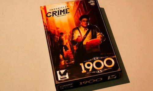 CHRONICLES OF CRIME: 1900 // erste Bilder vom Spielmaterial