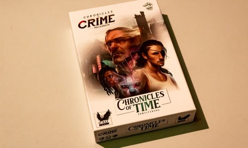 CHRONICLES OF CRIME // CHRONICLES OF TIME Erweiterung