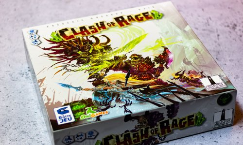 CLASH OF RAGE // Bilder vom Spiel + Erweiterungen