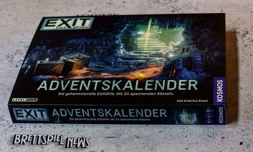 EXIT ADVENTSKALENDER // Bilder vom Spielmaterial