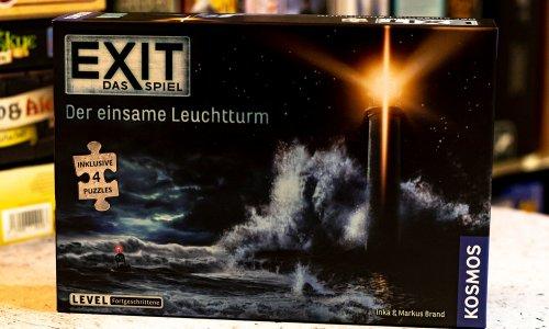 EXIT – DAS SPIEL + PUZZLE // Der einsame Leuchtturm - erste Bilder