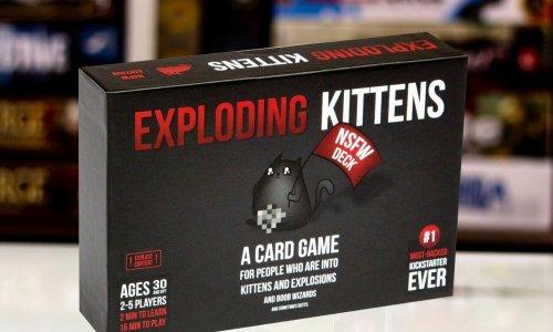 TEST // Exploding Kittens (NSFW)