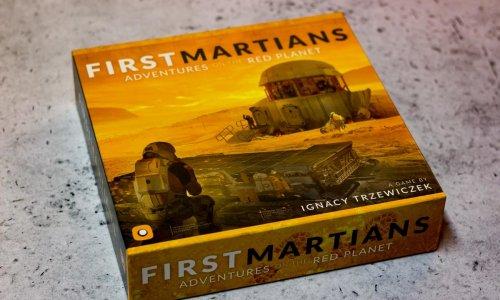 FIRST MARTIANS // Bilder vom Spiel