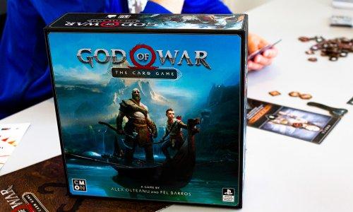 GOD OF WAR: THE CARD GAME // Prototyp – erste Bilder