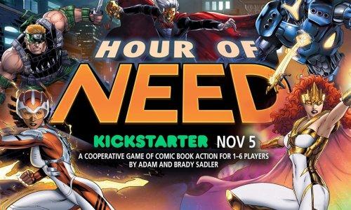 HOUR OF NEED // Kickstarter ab dem 05.11.2019, 17:00 Uhr