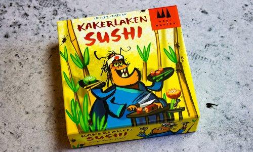 KAKERLAKEN SUSHI // Bilder vom Spiel