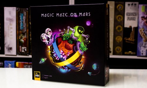 TEST // MAGIC MAZE ON MARS