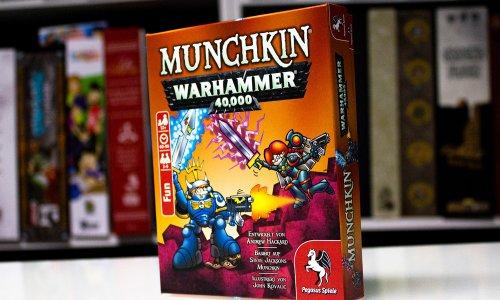 TEST // MUNCHKIN WARHAMMER 40.000