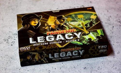 PANDEMIC LEGACY: SEASON 0 // Bilder vom Spiel