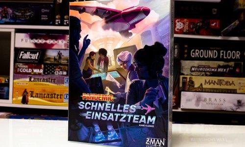 PANDEMIC: SCHNELLES EINSATZTEAM // Erste Bilder