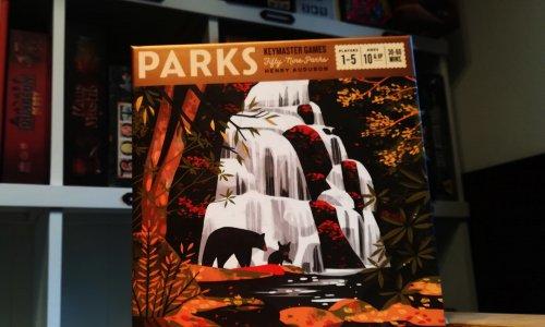 PARKS // Das ist das Spielmaterial