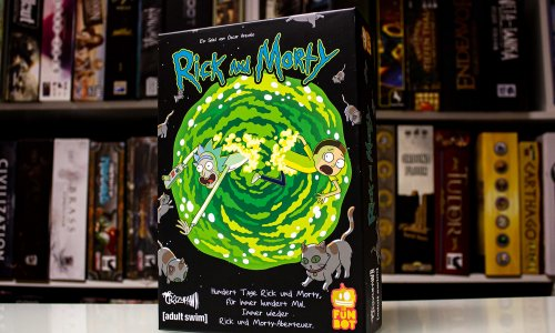 TEST // RICK AND MORTY: 100 Tage
