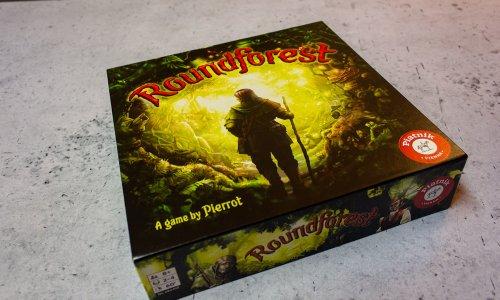 ROUNDFOREST // Bilder vom Spielmaterial