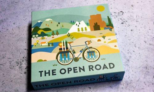 THE OPEN ROAD // Bilder vom Fahrrad-Spiel