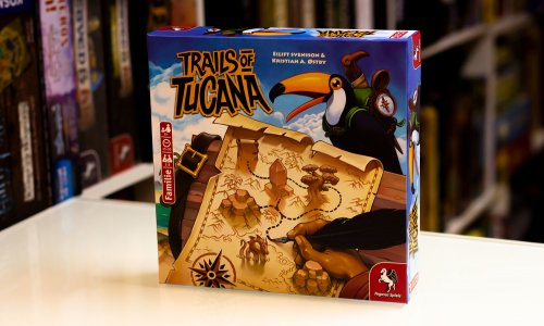 TEST // TRAILS OF TUCANA
