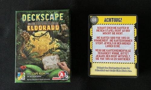 TEST //  Deckscape – Das Geheimnis von Eldorado