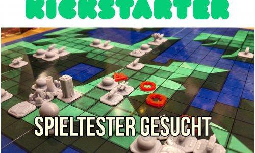 KICKSTARTER // FEINDFLUG - Tester gesucht