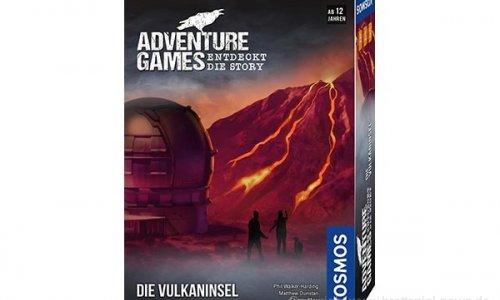 ADVENTURE GAMES // Die Vulkaninsel für Oktober angekündigt