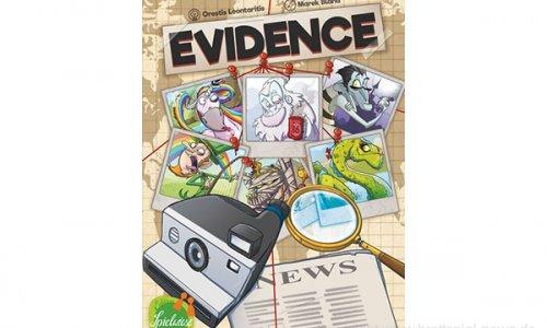 EVIDENCE // Neuheit von Edition Spielwiese zur SPIEL'19