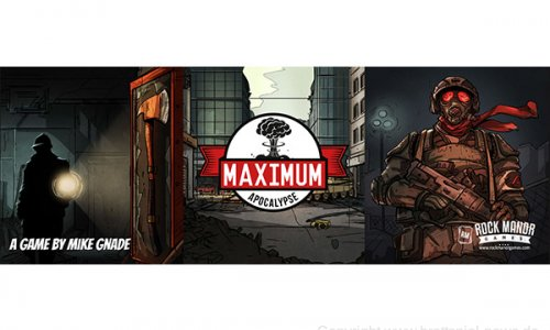 SPIELESCHMIEDE // Maximum Apocalypse gestartet
