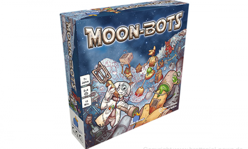 MOON-BOTS // Neues Familienspiel von Blue Orange