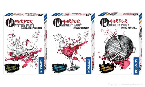MURDER MYSTERY // Reihe ist nun verfügbar