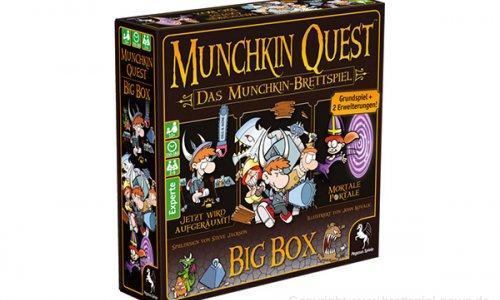 MUNCHKIN QUEST BIG BOX // ab dem 15.4.2019 verfügbar