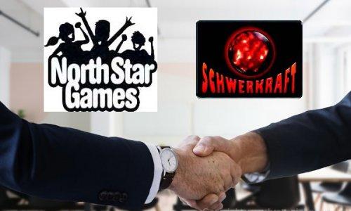 BRANCHE // Schwerkraft-Verlag arbeitet mit North Star Games zusammen