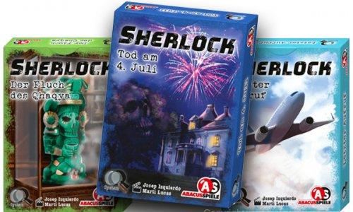 SHERLOCK // Neue Krimi-Spielserie bei Abacus