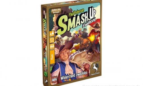 SMASH UP // Widerstand zwecklos …