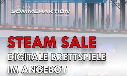 STEAM SALE // Digitale Brettspiele im Angebot