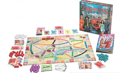 ZUG UM ZUG – LONDON // Bald im Handel