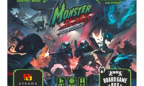 MONSTER SLAUGHTER: UNDERGROUND // Erscheint 2020 bei Board Game Box