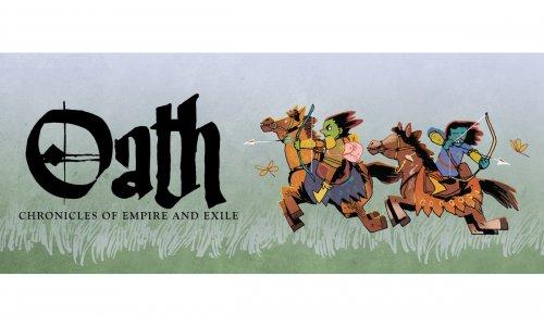 OATH: CHRONICLES OF EMPIRE AND EXILE // Neuheit von Leder Games