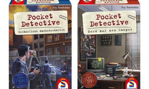 POCKET DETECTIVE // Fall 1+2 erscheinen im Herbst 2020