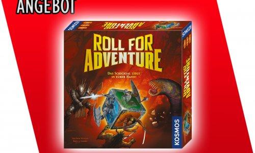 ANGEBOT // Roll for Adventure für 13,99 €